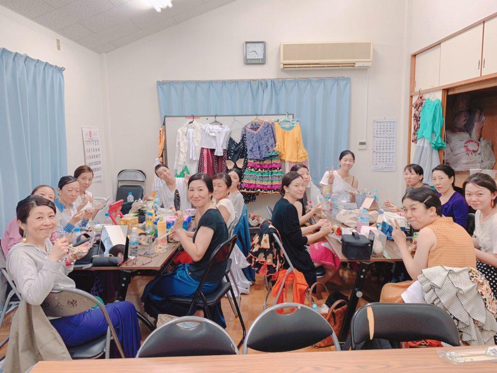 yy-flamencaの生徒さんもほとんどが舞踏経験ないフラメンコ初心者